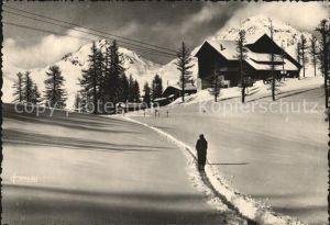 AK / Ansichtskarte Serre Chevalier Telepherique Wintersportplatz Franzoesische Alpen