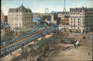 AK / Ansichtskarte Paris Rue Lecourbe Pont de Chemin de fer Kat. Paris