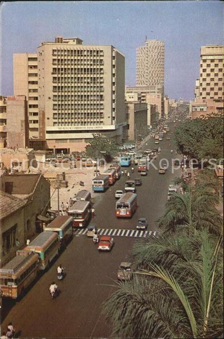 AK / Ansichtskarte Karachi Chundrigar Road Kat. Karachi