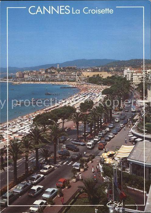 AK / Ansichtskarte Cannes Alpes Maritimes La Croisette le Palais des Festivals et des Congres et le Suquet Kat. Cannes