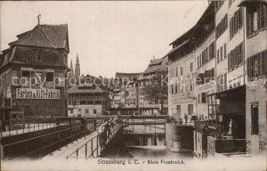 AK / Ansichtskarte Strassburg Elsass Klein Frankreich Farben und Kittfabrik Kat. Strasbourg