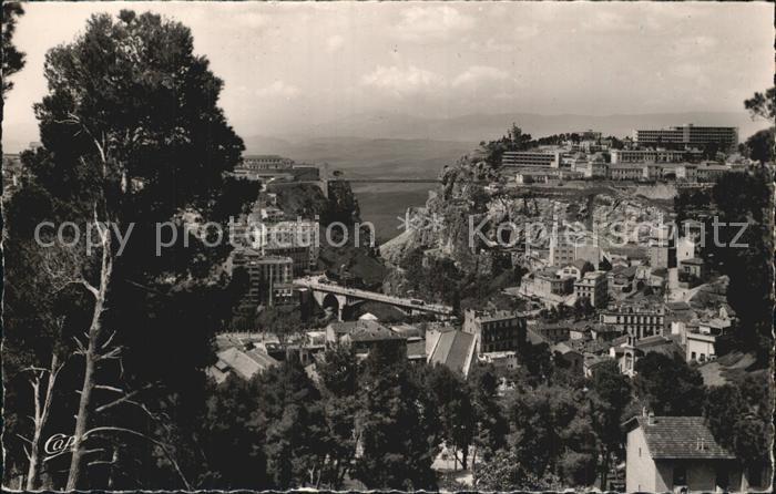 AK / Ansichtskarte Constantine Vue generale sur le Pont d El Kantara Kat. Algerien