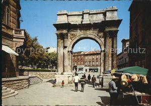 AK / Ansichtskarte Pula Arc de Triomphe Triumphbogen Kat. Pula