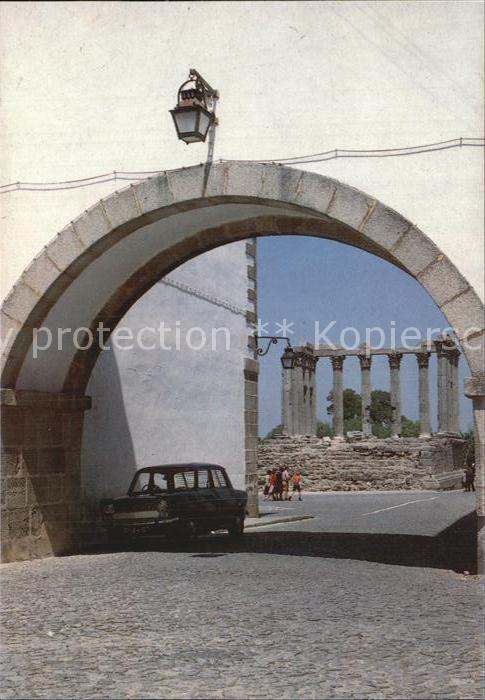 AK / Ansichtskarte Evora Patrimonio Mundial Templo de Diana Tempel Kat. Evora