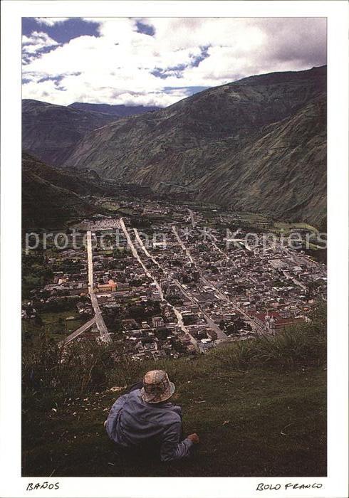 AK / Ansichtskarte Banos de Agua Santa Tungurahua