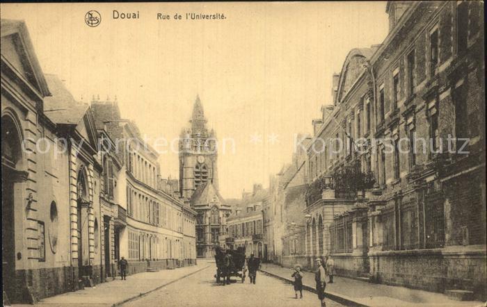 AK / Ansichtskarte Douai Nord Rue de l Universite Kat. Douai
