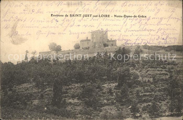 AK / Ansichtskarte Saint Just Saint Rambert Notre Dame de Grace Kriegsgefangenenpost Kat. Saint Just Saint Rambert