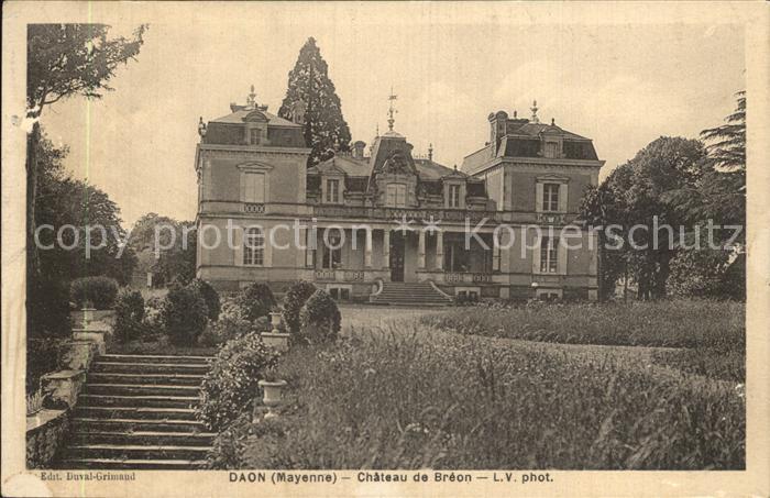 AK / Ansichtskarte Daon Chateau de Breon Schloss Kat. Daon