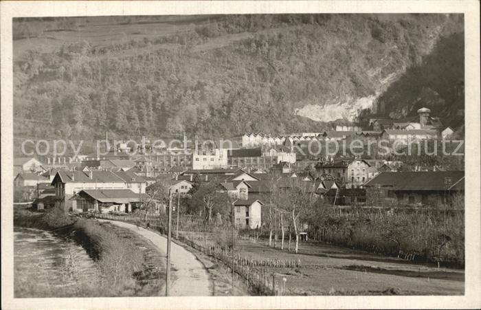 AK / Ansichtskarte Lancey Vue generale Collection Les Belles Alpes Francaises