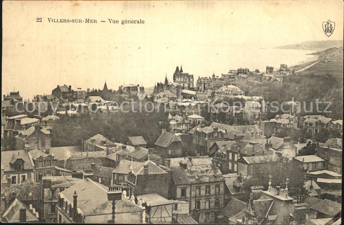 AK / Ansichtskarte Villers sur Mer Vue generale Kat. Villers sur Mer