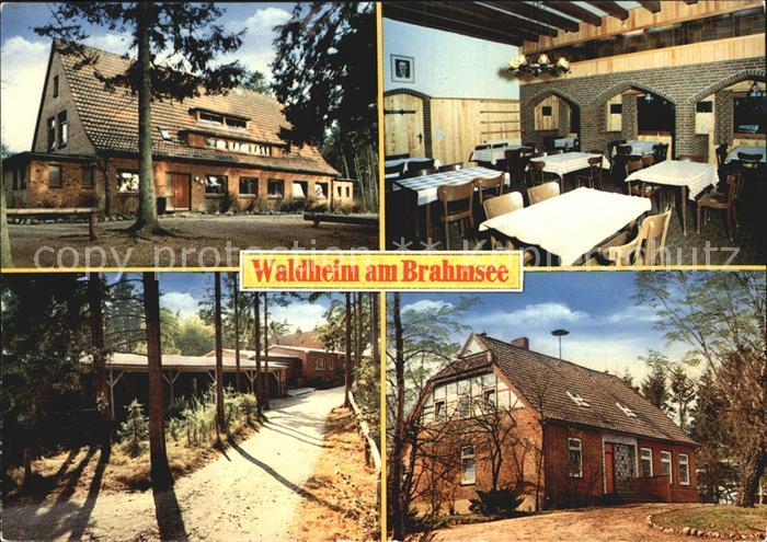 AK / Ansichtskarte Waldheim Brahmsee Evangelische Jugendheim  Kat. Langwedel
