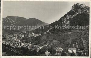 AK / Ansichtskarte Salins les Bains Vue generale et Fort Belin Montagnes Kat. Salins les Bains