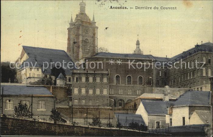 AK / Ansichtskarte Avesnes le Sec Le Couvent Kloster Kat. Avesnes le Sec