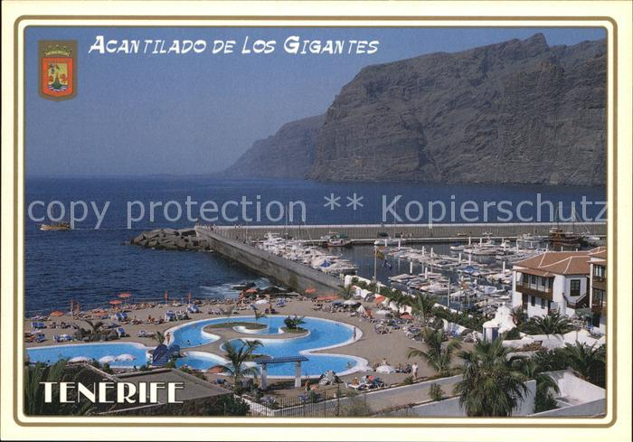 AK / Ansichtskarte Los Gigantes Santiago del Teide Acantilado