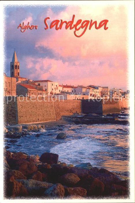AK / Ansichtskarte Alghero Bastioni Marco Polo Kuestenmauer Kat. Alghero