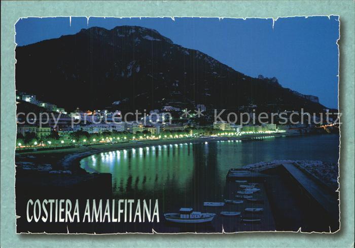 AK / Ansichtskarte Maiori di notte Costiera Amalfitana Kat. Maiori