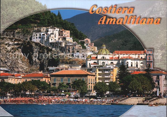 AK / Ansichtskarte Maiori Vista dal mare Costiera Amalfitana Kat. Maiori