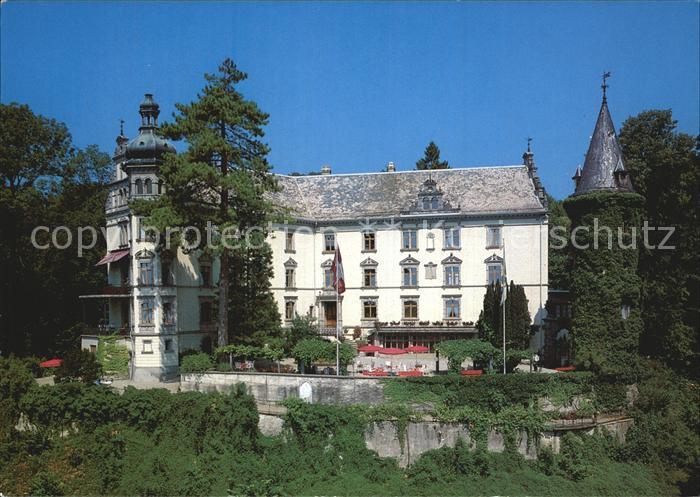 AK / Ansichtskarte Huettwilen Kurhotel Schloss Steinegg Kat. Huettwilen