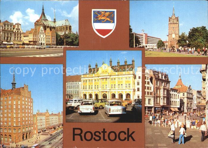 Rostock Mecklenburg Vorpommern Kroepeliner Str Haus Sonne