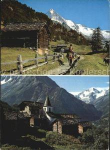 AK / Ansichtskarte La Sage au Val d`Herens  Kat. La Sage