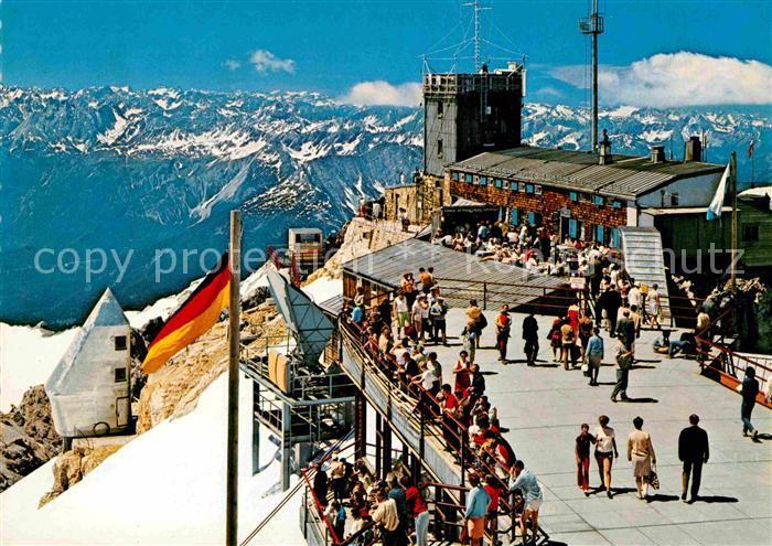 AK / Ansichtskarte Zugspitze Muenchner Haus Zugspitzbahn Kat. Garmisch Partenkirchen