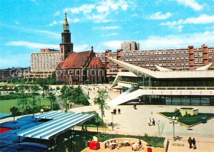 AK / Ansichtskarte Berlin Marienkirche Anlage am Fernsehturm Hauptstadt der DDR Kat. Berlin