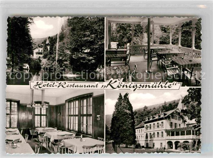 AK / Ansichtskarte Neustadt Weinstrasse Hotel Restaurant Koenigsmuehle Kat. Neustadt an der Weinstr.