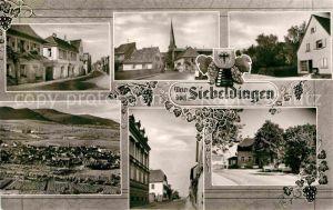 AK / Ansichtskarte Siebeldingen Ortsansichten Weindorf Strassenpartie Kirche Kat. Siebeldingen