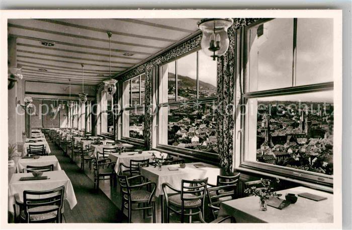 AK / Ansichtskarte Neustadt Weinstrasse Kurhaus Hotel Haus Kohler Restaurant Kat. Neustadt an der Weinstr.