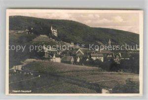 AK / Ansichtskarte Haardt Weinstrasse Teilansicht mit Schloss Kat. Neustadt an der Weinstr.