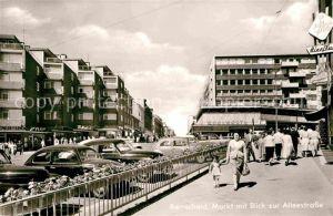 AK / Ansichtskarte Remscheid Markt Alleestrasse Kat. Remscheid