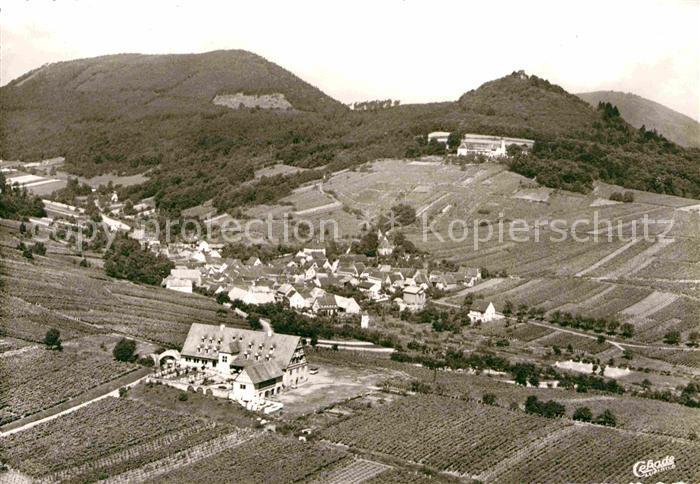 AK / Ansichtskarte Leinsweiler Hotel Leinsweiler Hof Blick auf Neukastell Kat. Leinsweiler
