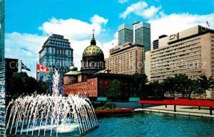 AK / Ansichtskarte Montreal Quebec La ville vue de la Place du Canada Kat. Montreal