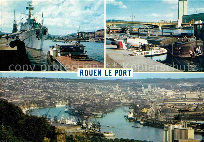 AK / Ansichtskarte Rouen Grand Port de transit Kat. Rouen