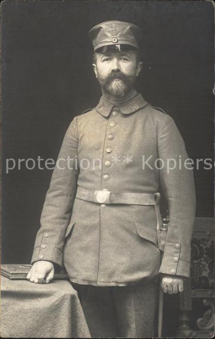 AK / Ansichtskarte Militaria Landwehr Landsturm Infanterie   Ersatz Bataillon 20 Dancig WK1