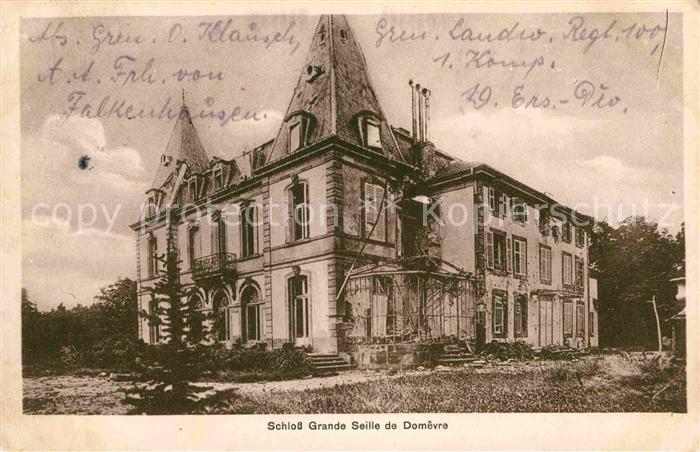AK / Ansichtskarte Domevre en Haye Schloss Grande Seille Kat. Domevre en Haye