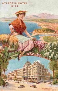AK / Ansichtskarte Nice Alpes Maritimes Atlantic Hotel Boulevard Victor Hugo Kat. Nice