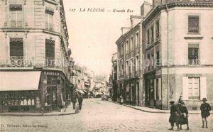 AK / Ansichtskarte La Fleche Grande Rue Kat. La Fleche