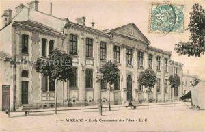 AK / Ansichtskarte Marans Charente Maritime Ecole Communale des Filles  Kat. Marans