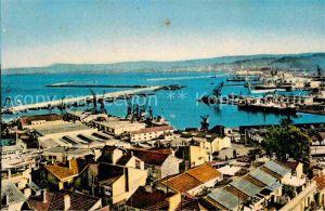 AK / Ansichtskarte Alger Algerien Hafen