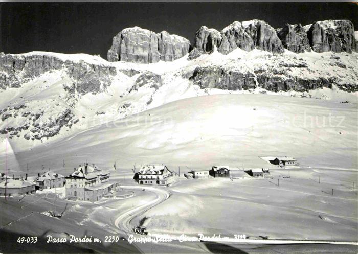 AK / Ansichtskarte Passo Pordoi Teilansicht Teilansicht  Kat. Italien