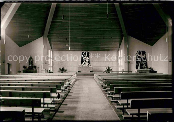 AK / Ansichtskarte Altenstadt Waldnaab Kirche Chorraum Kat. Altenstadt a.d.Waldnaab