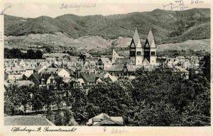AK / Ansichtskarte Offenburg Gesamtansicht mit Kirche Schwarzwald Kat. Offenburg