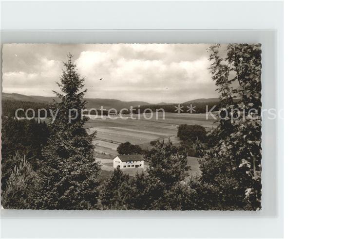AK / Ansichtskarte Usseln Schullandheim der Guetersloher Realschulen Kat. Willingen (Upland)