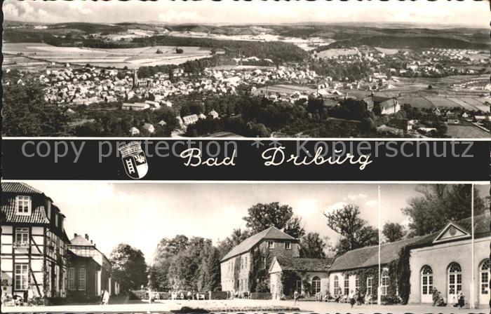 AK / Ansichtskarte Bad Driburg Total Ortsansicht Kat. Bad Driburg