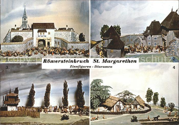 AK / Ansichtskarte Sankt Margarethen Burgenland Roemersteinbruch Zinnfiguren Dioramen Volkskunstladen Kat. Sankt Margarethen im Burgenland