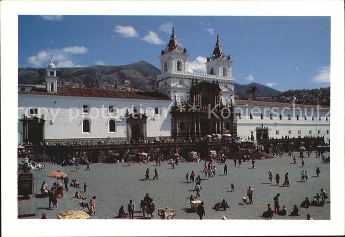 AK / Ansichtskarte Ecuador Quito Iglesia de San Francisco Kat. Ecuador