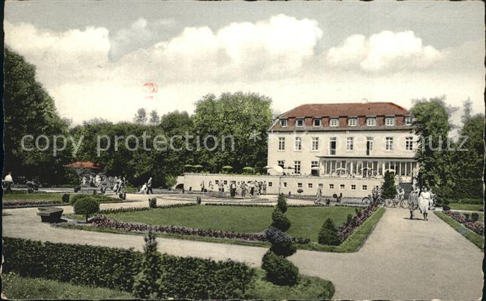 AK / Ansichtskarte Buer Gelsenkirchen Schloss Berge Park Kat. Gelsenkirchen