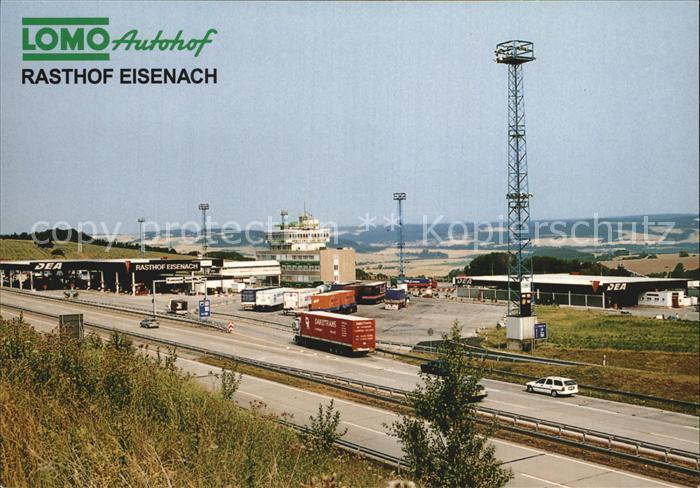 AK / Ansichtskarte Krauthausen Eisenach Lomo Autohof Rasthof Autobahn Kat. Krauthausen Eisenach