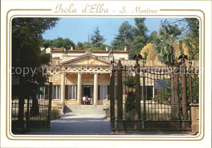 AK / Ansichtskarte San Martino Isola d Elba Villa di Napoleone Villa Napoleon